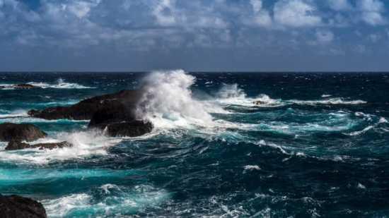 agua mágica de mar