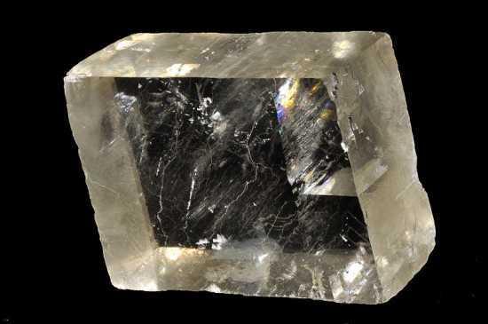 piedra solar, variedad de calcita