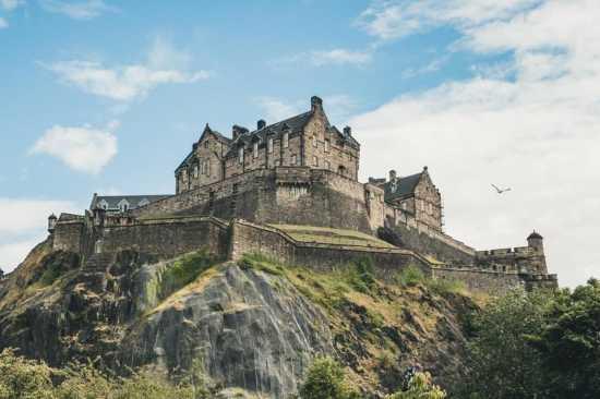 Castillo de Edimburgo lugares misteriosos