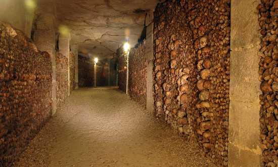 catacumbas de Paris, lugares misteriosos del mundo