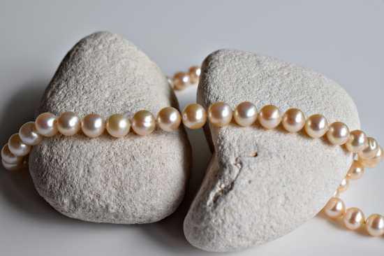 perlas en la joyería
