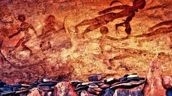 pinturas rupestres astronautas