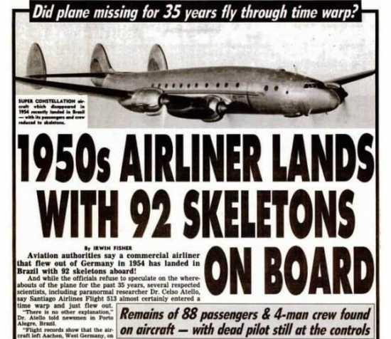 aterrizaje del vuelo 513